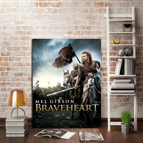 1 Panel Braveheart Poster Wall Art Canvas