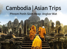 Load image into Gallery viewer, 7 Days 6 Nights Phnom Penh+Siem Reap- Angkor Wat in Cambodia (JB4+AW5)(Minimum 2 person)