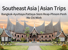 Load image into Gallery viewer, 15 Days 14 Nights Bangkok+Ayuttaya+Pattaya+Siem Reap+Phnom Penh+Ho Chi Minh Southeast Asia Package( CL-BKPA8+AW5+JB4+HCM4)