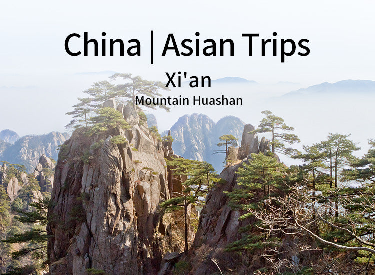 Xi'an Huashan Adventure One Day Tour(WEST UP&NORTH DOWN) (XA-MT)