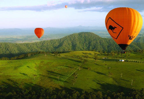 Hot Air Ballooning 60-Min including Champagne Breakfast from the Gold Coast
