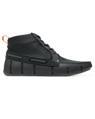 Swims Sport Loafer High Top - Black