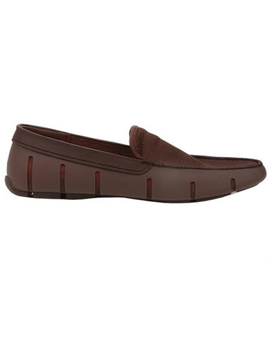 Swims Flat Front Loafer - Brown