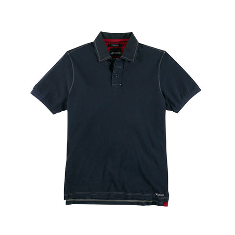 Musto Canvas Collar Polo