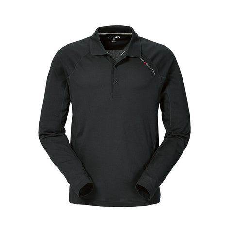 Musto Evolution Sunblock Long Sleeved Polo - Carbon
