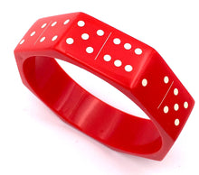 RED DOMINO BANGLES