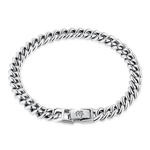 Men's Curb Bracelet in 925 Sterling Silver