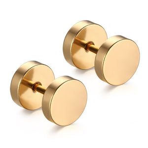 Round Stud Earrings Collection