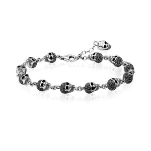 Multi Skull Bracelet for Men