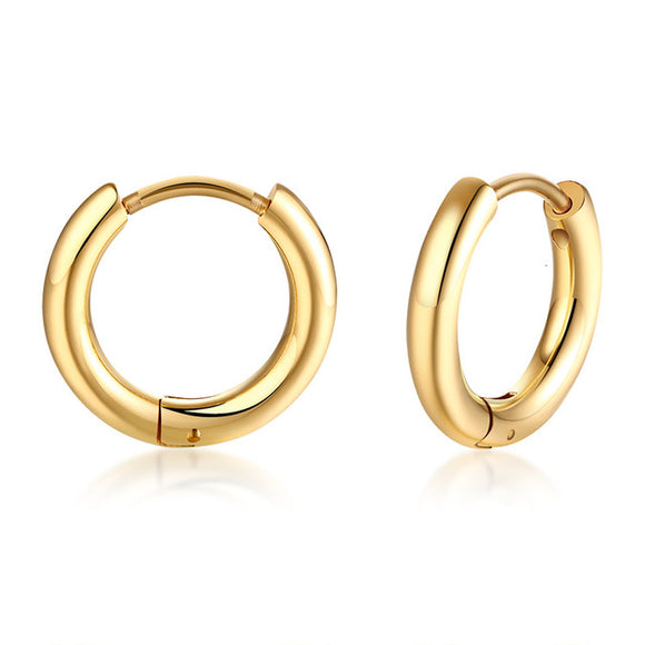 Small Hoop Earrings for Men