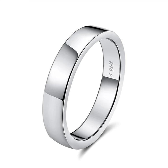 plain wedding band ring