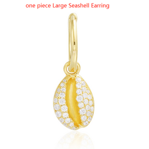 Gold Seashell Jewelry Collection