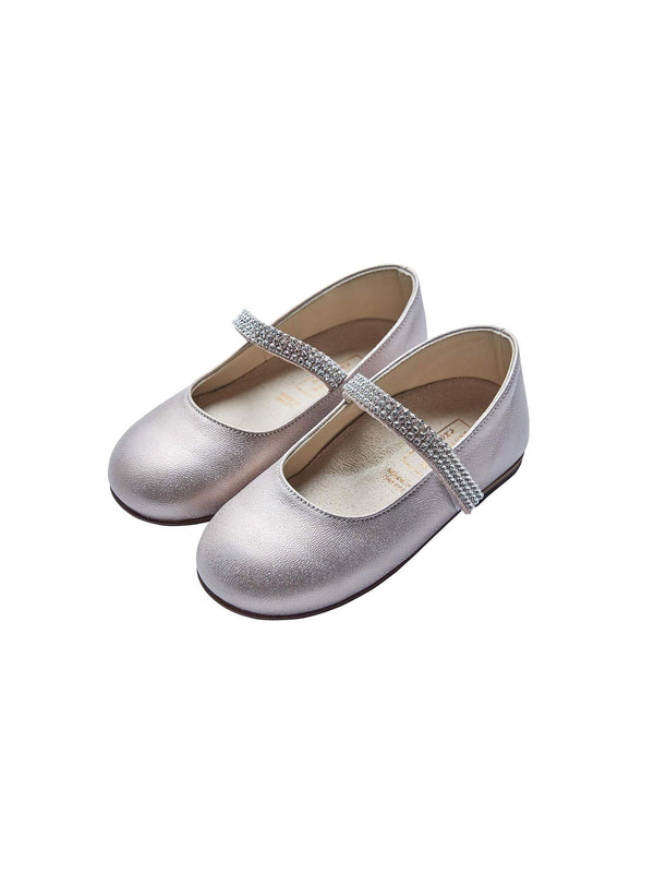 Babywalker Single Strap Swarovski Ballerinas