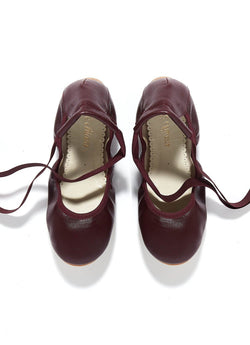 Belle Chiara Leather Ballet Flats