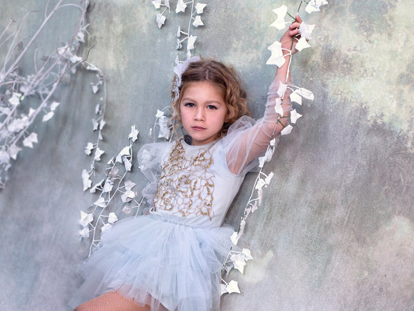 Golden Icicle Tutu Dress