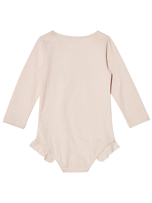 Bébé - Shell Me About It Long-sleeve Onesie