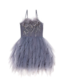 Floating Feathers Tutu Dress