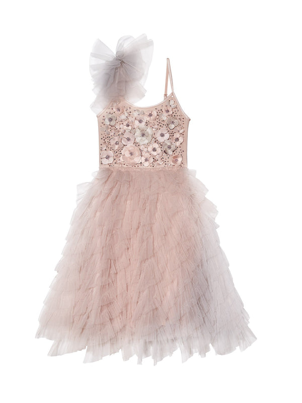 En Rose Long Tutu Dress
