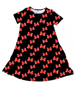 Penelope Dress Mini Bow