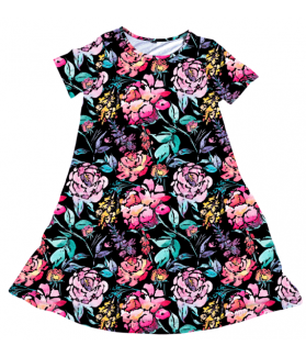 Penelope Dress Sunset Floral