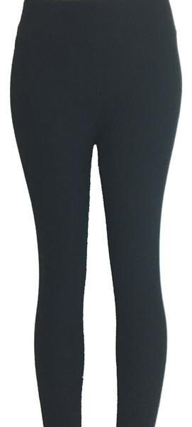 Solid Black Designer Legging