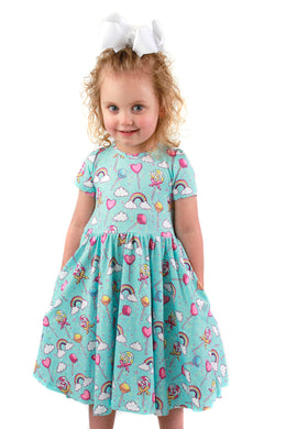 Lollipop Skies Bailey Dress