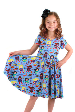 Caped Heroes Bailey Dress