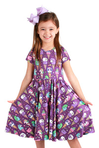 Ice Cream Cones Bailey Dress
