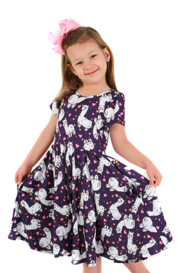 Llama Love Bailey Dress