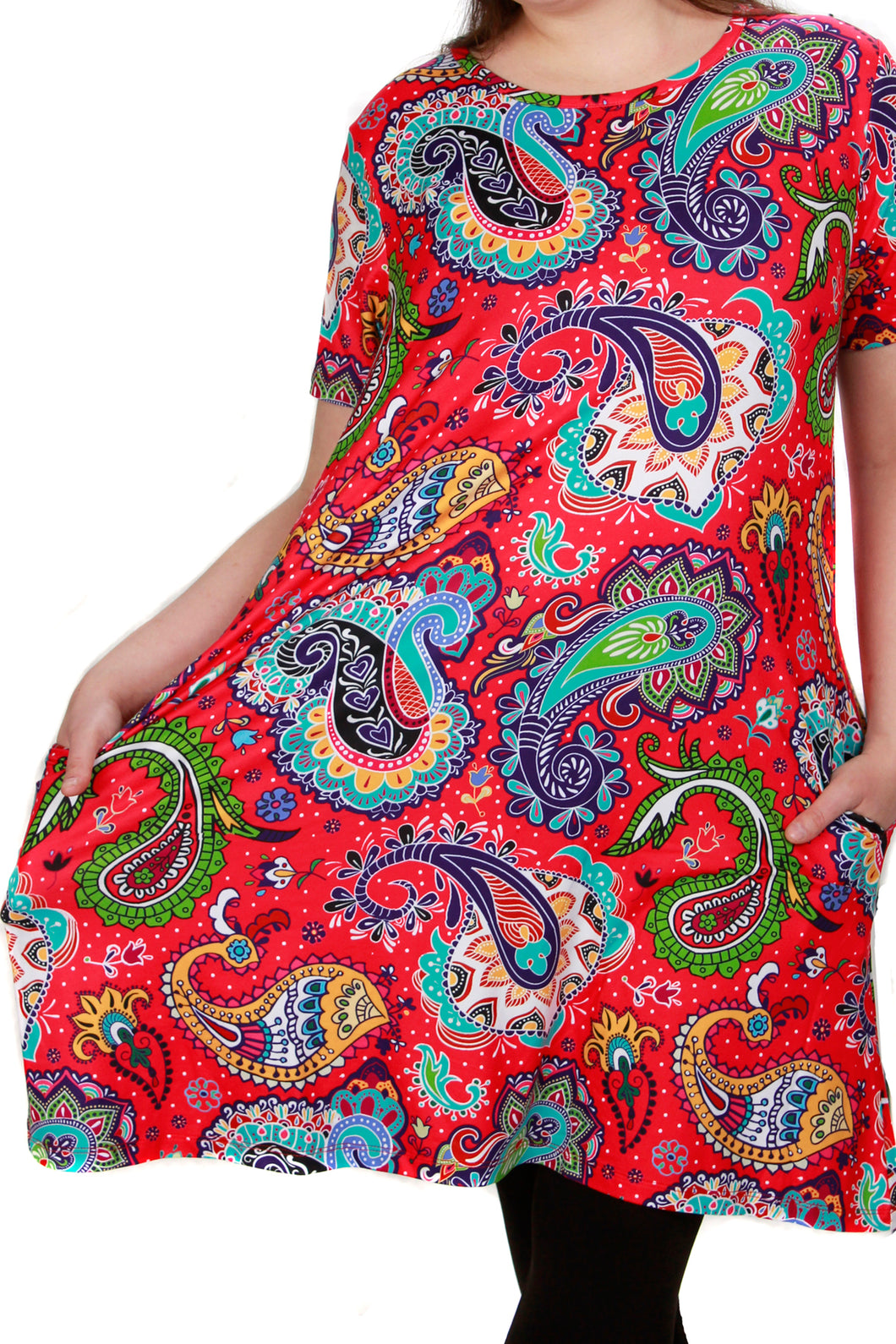 Penelope Dress Margarita Paisley