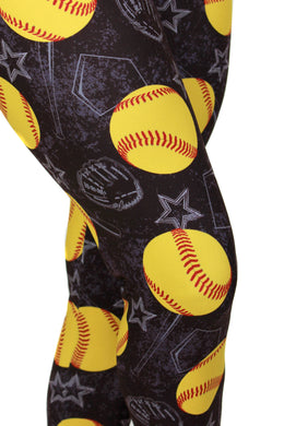 Softball Life Designer Legging