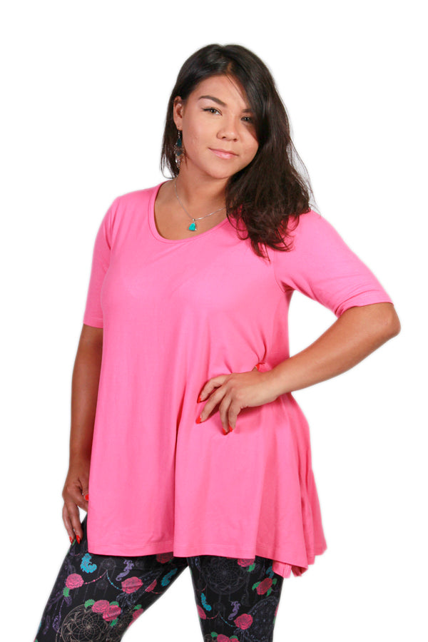 Solid Pink Ideal T
