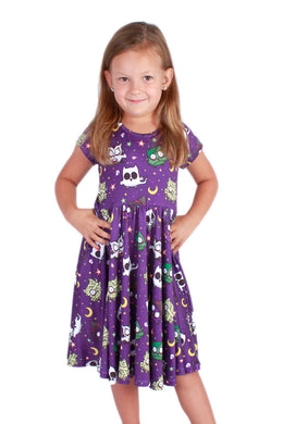 Halloween Owl Bailey Dress