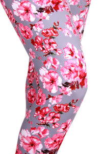 Cherry Blossoms Designer Legging