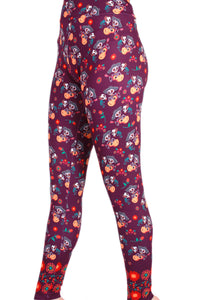 Day of the Dead Designer Legging
