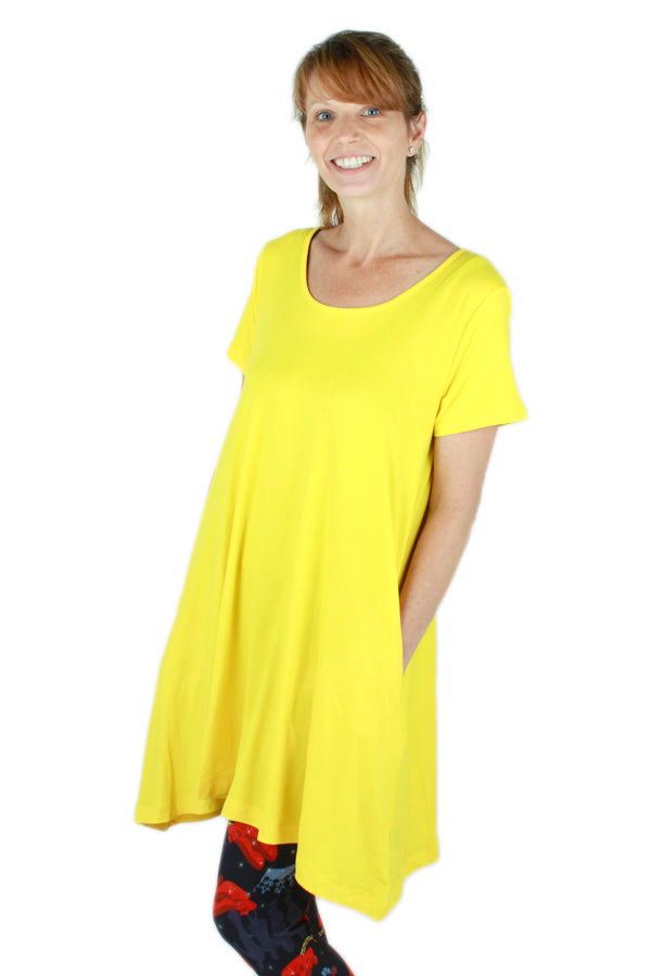 Solid Yellow Swing Top