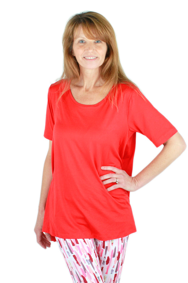 Solid Red Ideal T