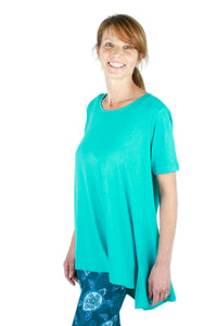 Solid Teal Ideal T