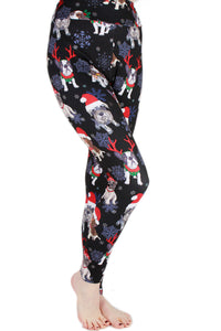 Holiday Pups Designer Legging