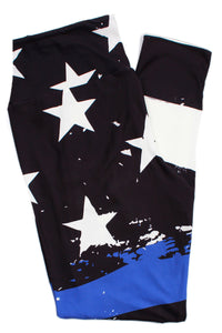 Thin Blue Line Designer Legging