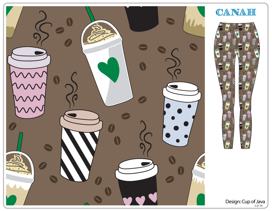 Cup of Java Designer Legging