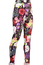 Load image into Gallery viewer, Floral Romance Designer Legging