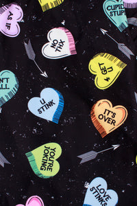 Fun Candy Hearts Designer Legging
