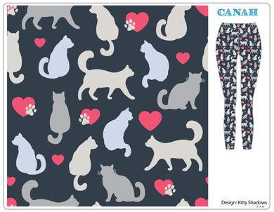 Kitty Shadows Designer Legging