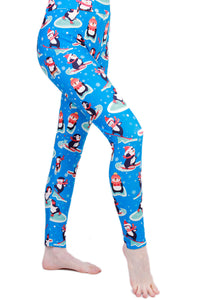 Penguin Fun Designer Legging