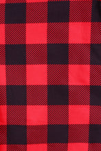 Load image into Gallery viewer, Red Buffalo Plaid Designer Legging