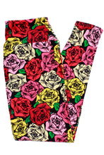 Load image into Gallery viewer, Rose Love Designer Legging