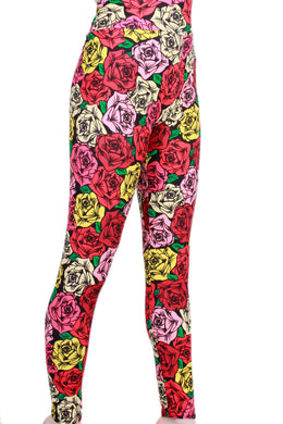 Rose Love Designer Legging
