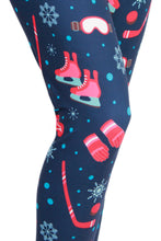 Load image into Gallery viewer, Snowy Days Designer Legging