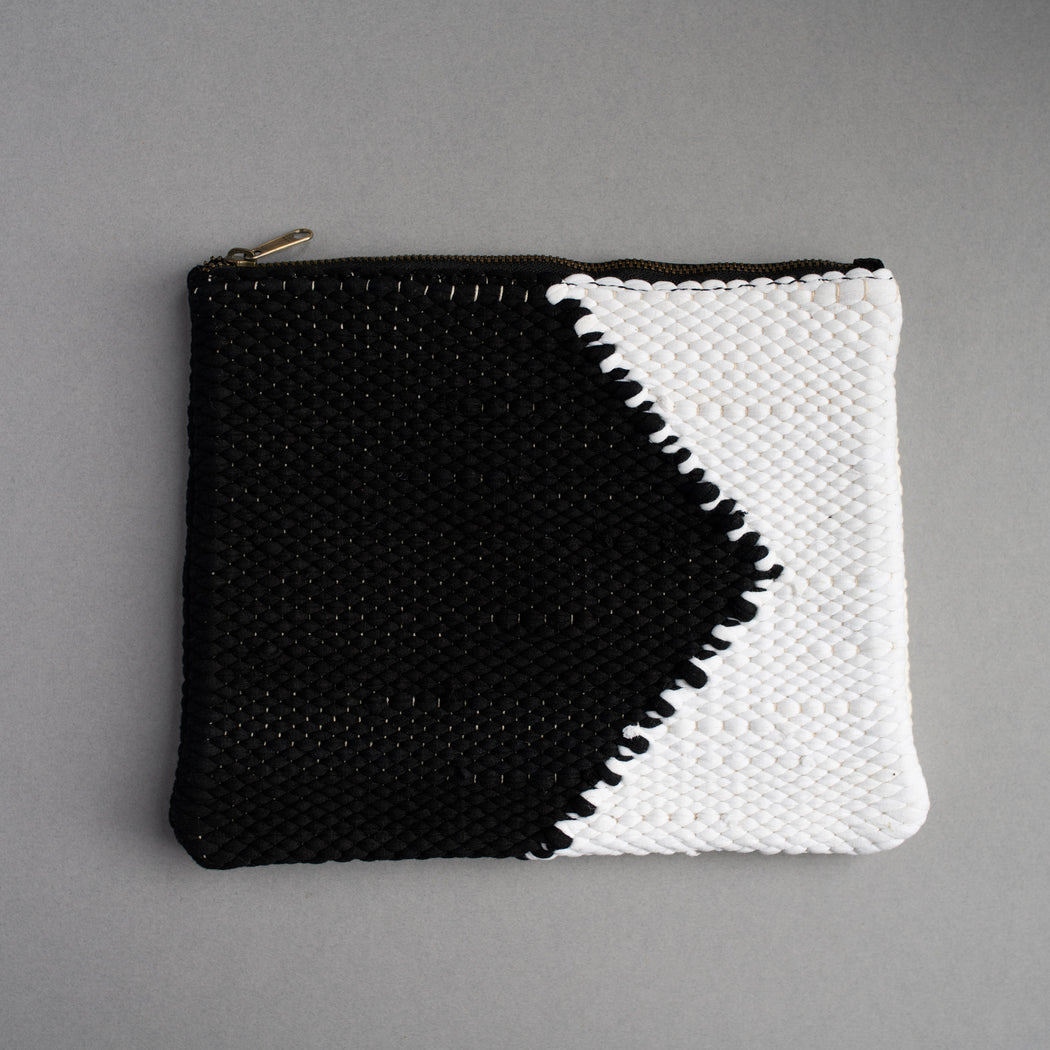 Organic cotton clutch